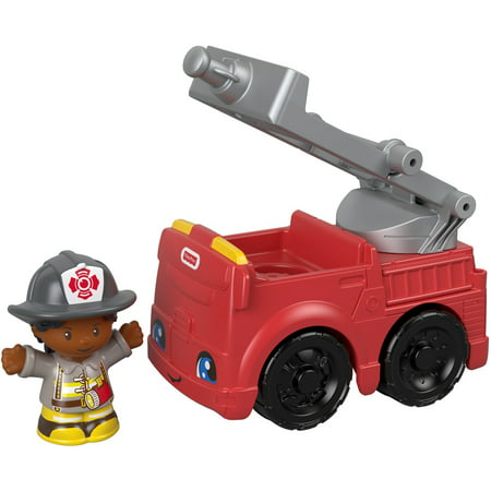 Fisher-Price Little People to the Rescue Fire Truck