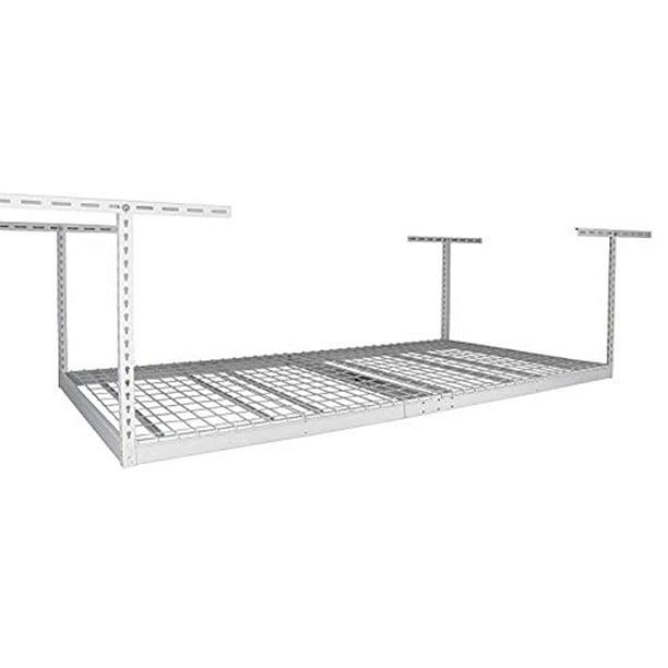 Monsterrax 4x8 Overhead Garage Storage, Overhead Garage Storage Rack Accessories