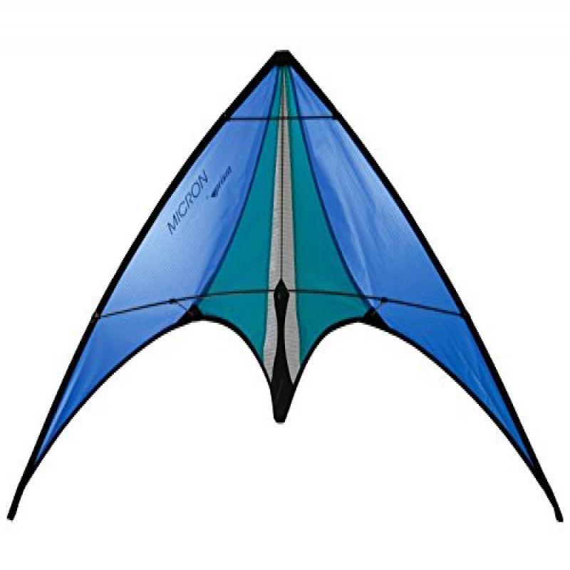 Prism Micron Dual-line Stunt Kite, Blue by