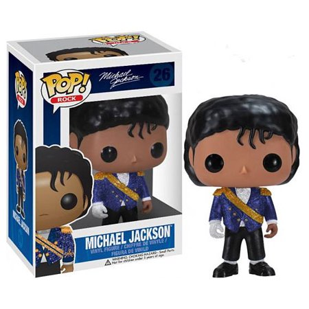 Michael Jackson Collectibles - Funko POP! Rocks Michael Jackson Vinyl Figure [Purple Jacket]