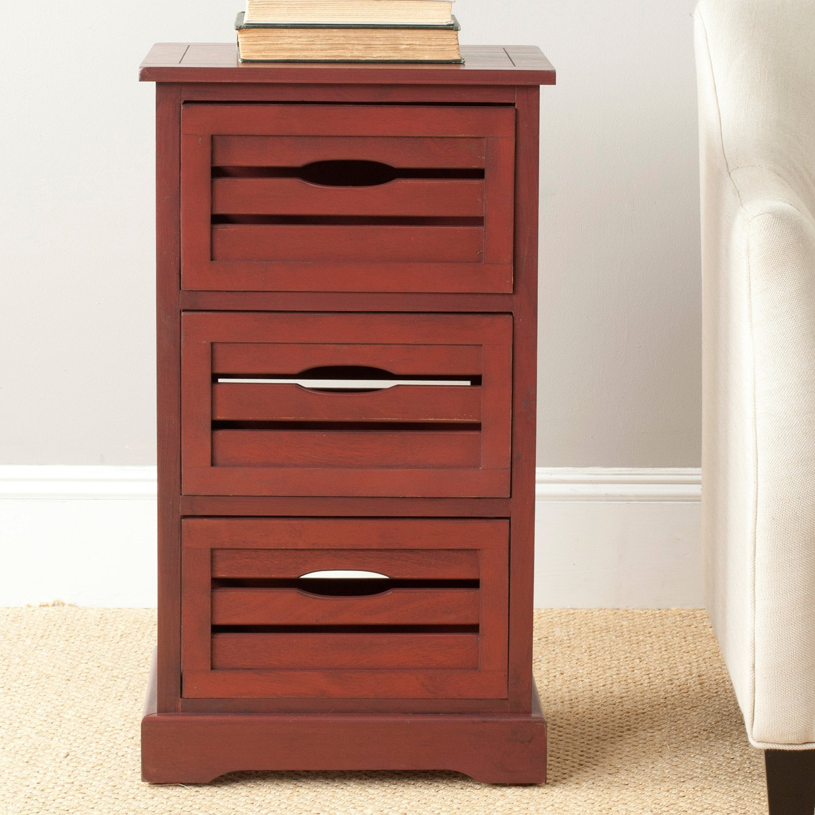 Safavieh Samara 3 Drawer Cabinet
