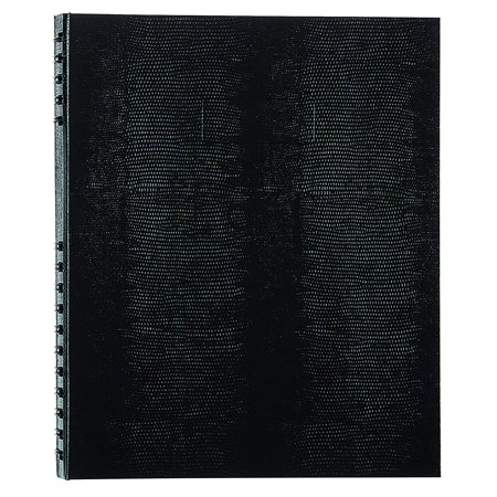 NotePro Undated Daily Planner, Black, 200 Pages,11 x 8-1/2 Inches, NotePro Undated Daily Planner, Black, 200 Pages,11 x 8.5 Inches (A30C.81) By Blueline,USA