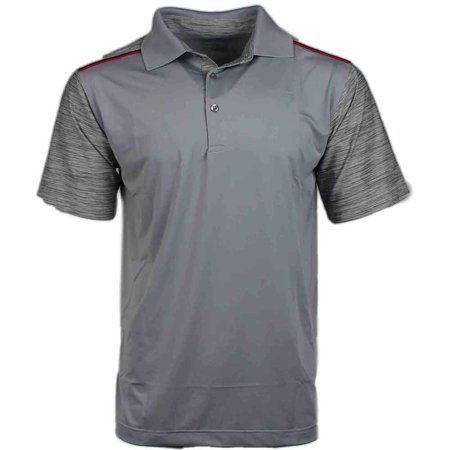 Page & Tuttle Mens Tonal Textured  Golf Casual  Polo -