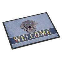 Weimaraner Welcome Door Mat