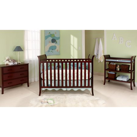BSF Baby - Sleigh Crib, Changing Table and Clothing Organizer ...