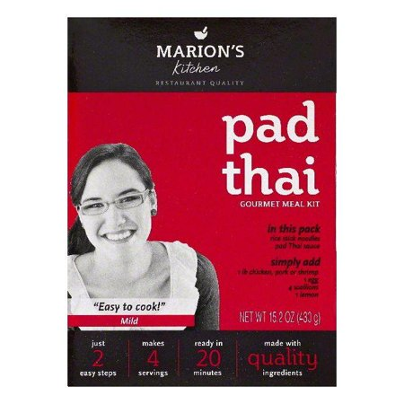 Marions Kitchen Mild Pad Thai Gourmet Meal Kit, 15.2 Oz (Pack of 5) - Gourmet Halloween Meals