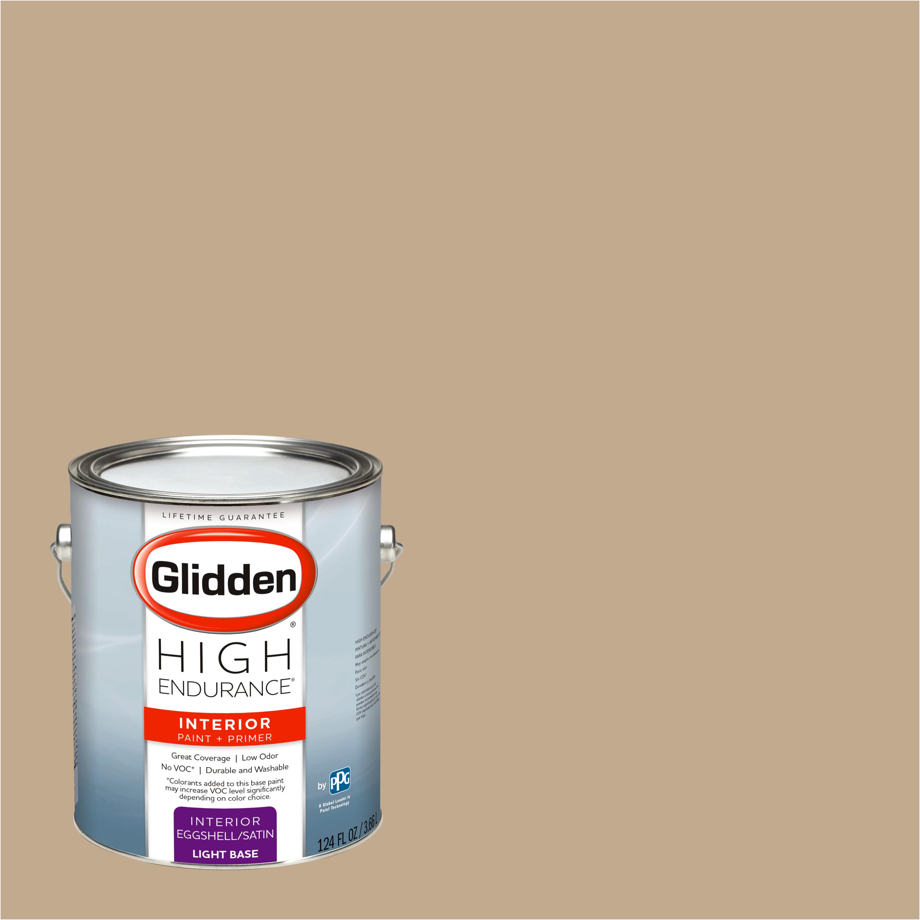 Glidden High Endurance, Interior Paint and Primer, Highland Plains Neutral, # 10YY 41/175