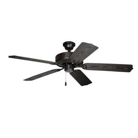 "Chapter 52"" French Bronze Dual Mount Ceiling Fan"