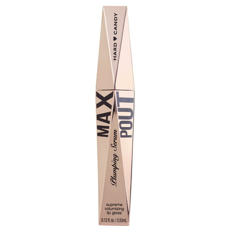 Hard Candy Plumping Serum Lip Gloss, 1411 Max