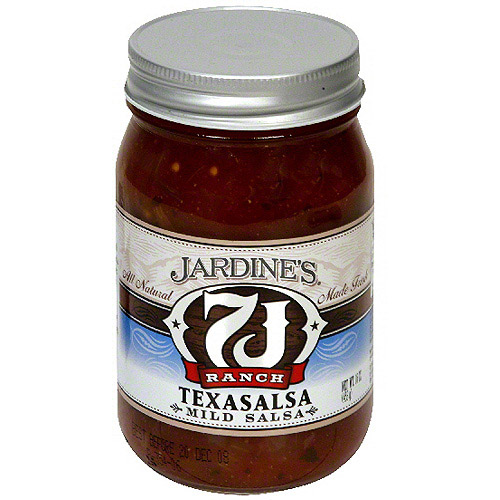 Jardine's 7J Ranch Mild Texasalsa, 16 oz (Pack of 6)