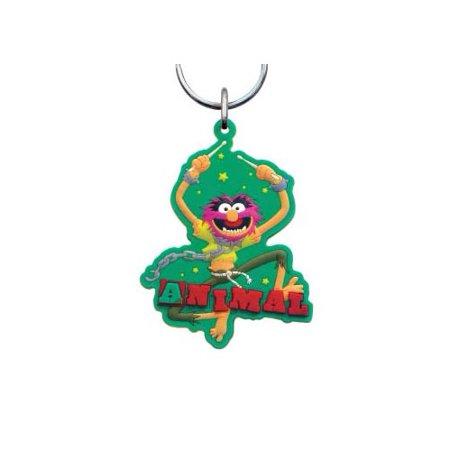 Animal Muppets Laser Cut Rubber Keychain
