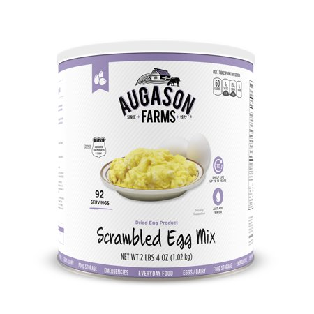 Augason Farms Scrambled Egg Mix 2 Lbs 4 Oz No  10 Can