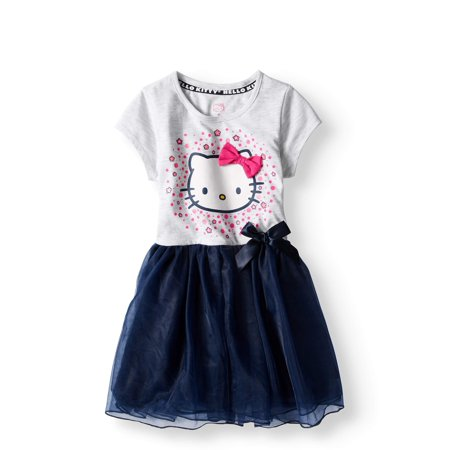 Short Sleeve Tutu Dress (Little Girls) - Short Girls Tube