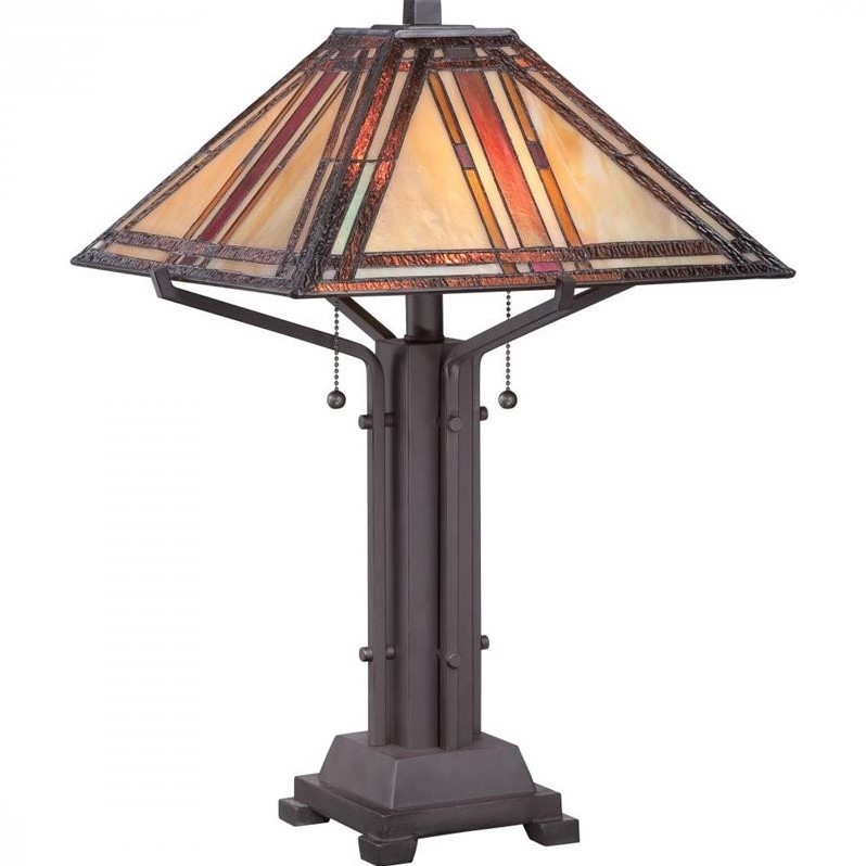 Quoizel Revere Table Lamp in Western Bronze
