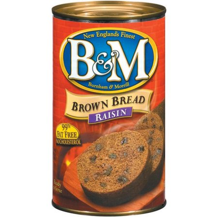 - B&M Raisin Brown Bread, 16 oz