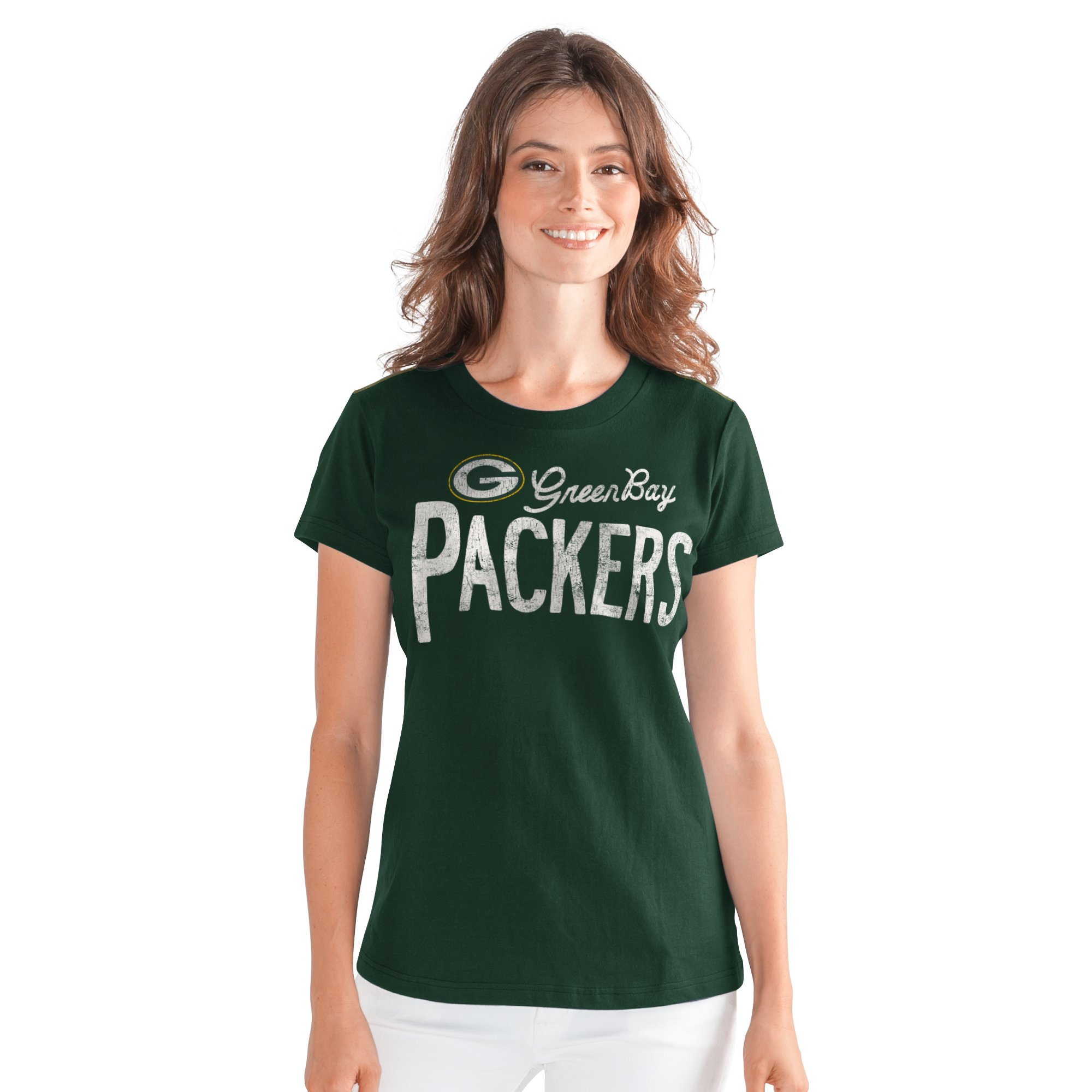 Green bay Packers Women's Crew Neck T-Shirt by