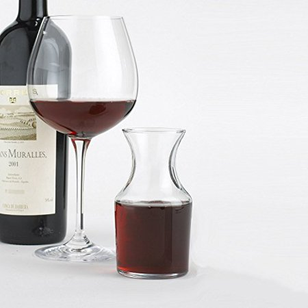 Wine Enthusiast Individual Decanters, Set of 4