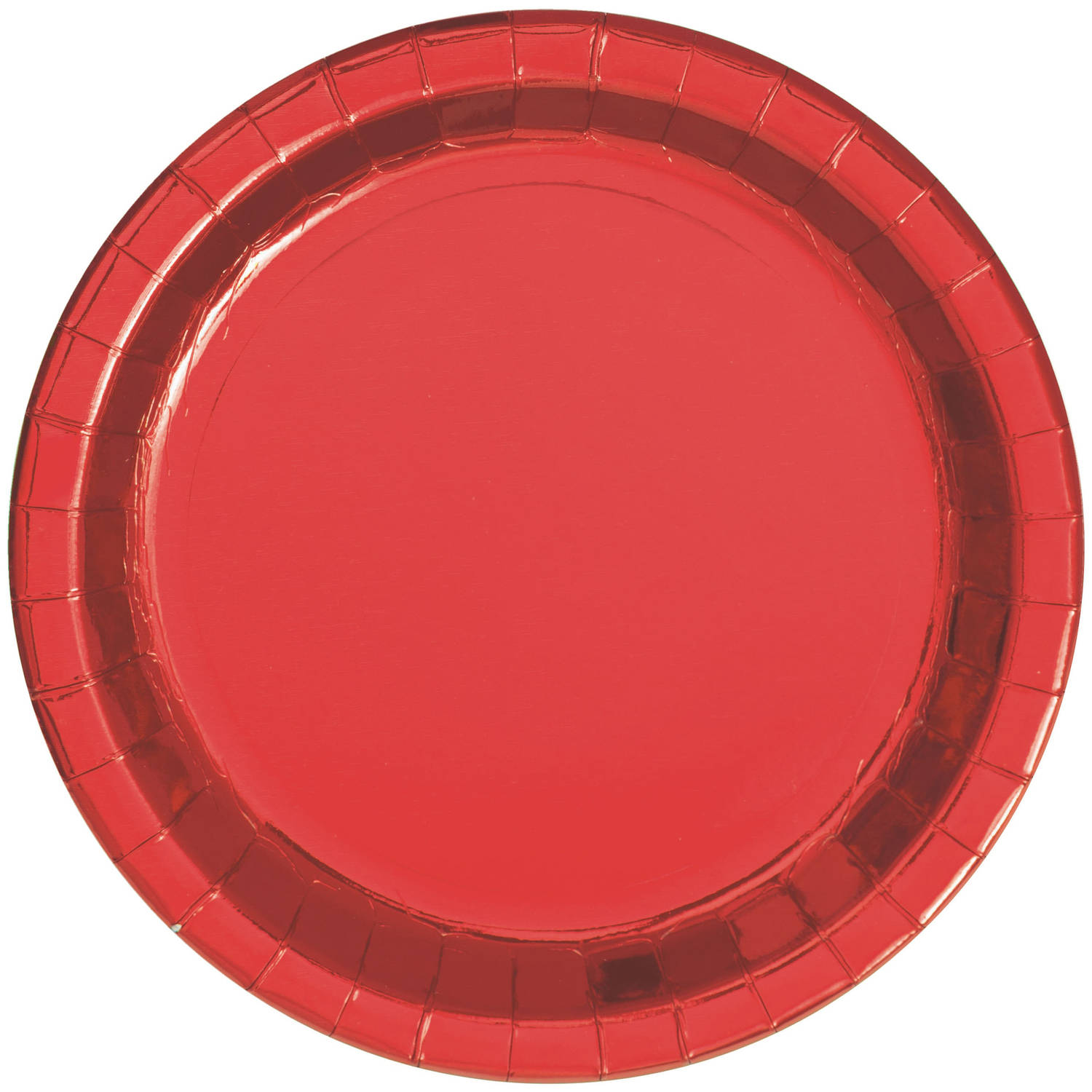 Gold Foil Paper Plates, 9in, 8ct