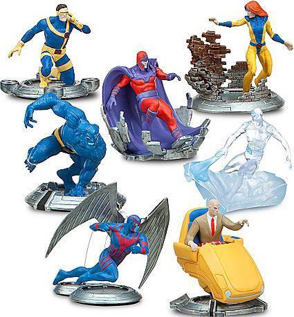 Marvel Classic X-Men PVC Figure 7-Pack Set by