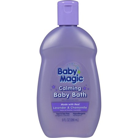 Baby Magic Calmant Baby Bath Lavande et Camomille 9 oz
