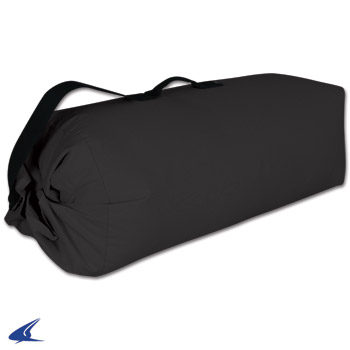 Large Canvas Duffle Bag-40''L x 12''W x 12''H, Black by Champro