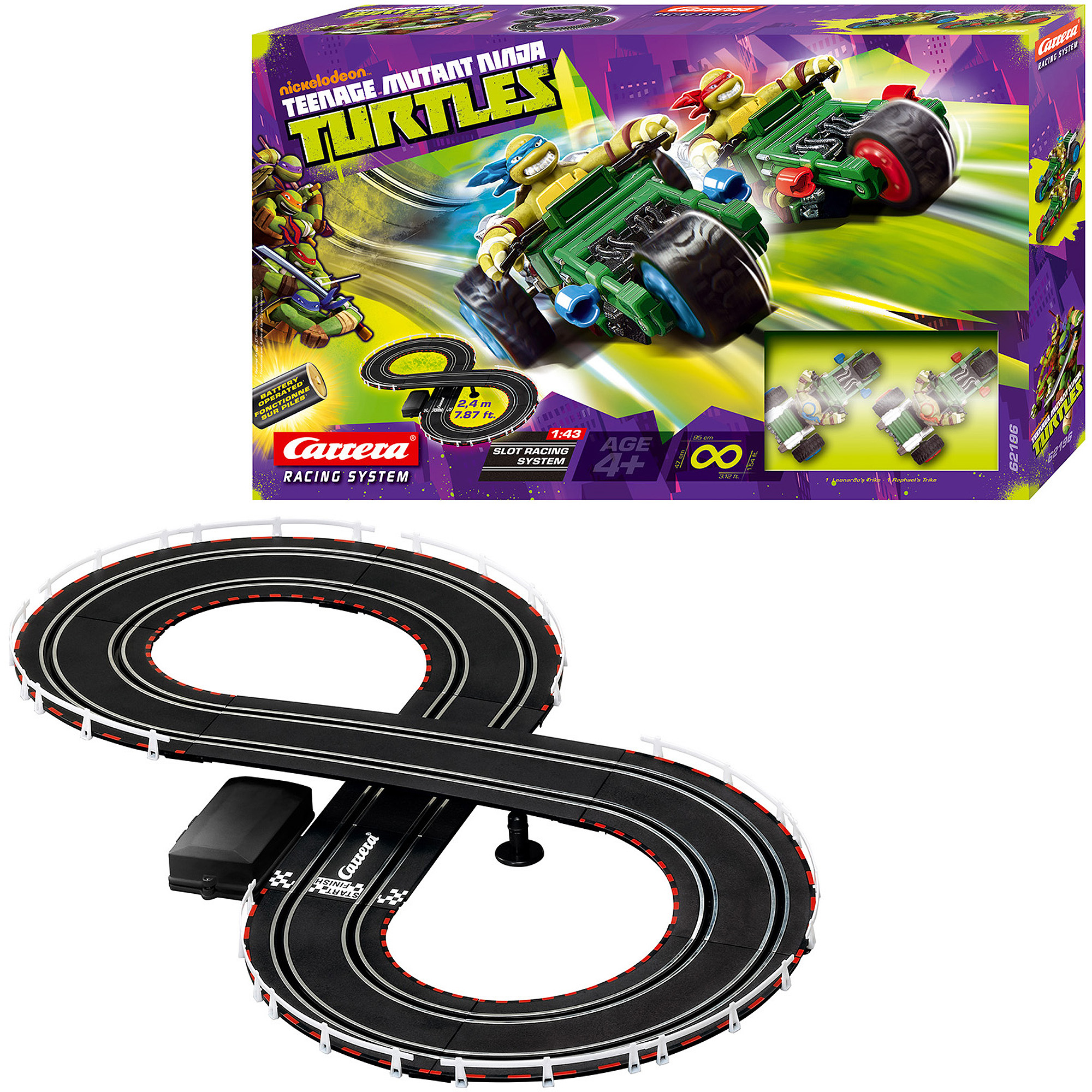 Carrera Nickelodeon Teenage Mutant Ninja Turtles Racing System