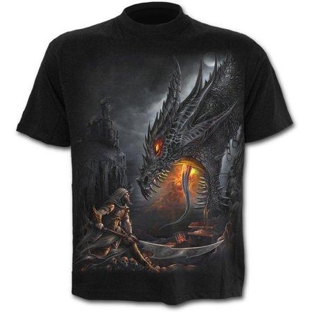 Dragon Slayer T-shirt - Direct DRAGON SLAYER Cotton T-Shirt BlackDragon