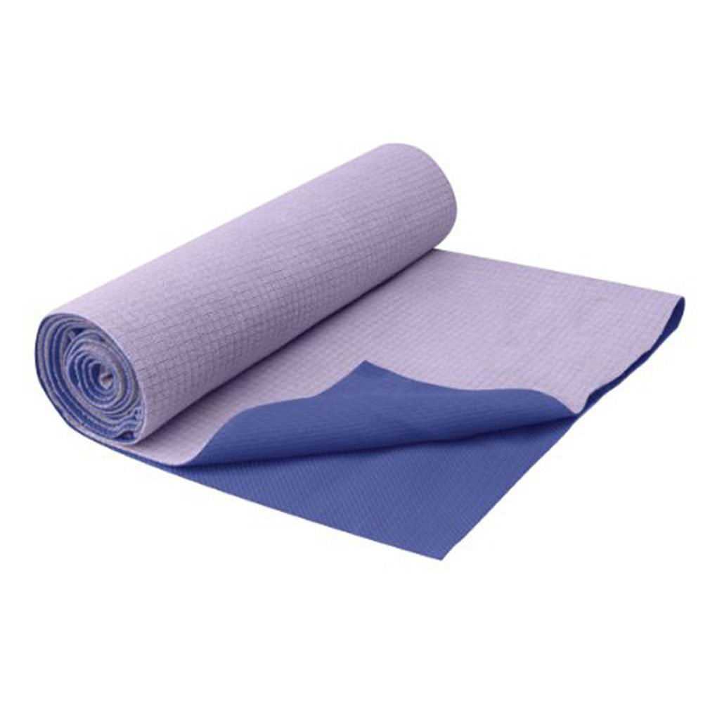 Gaiam 05-59268 Restore No-Slip Yoga Towel-Deep Purple