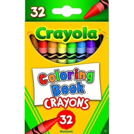 Coloring Book Crayons 32ct - Walmart.com
