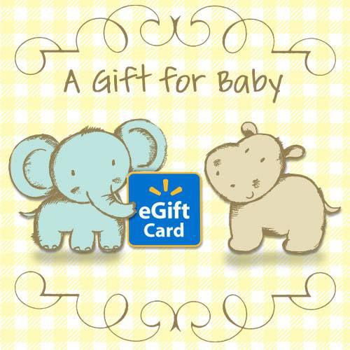 A Gift for Baby Walmart eGift Card - Walmart.com