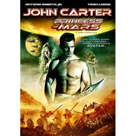 John Carter: Princess of Mars (DVD)
