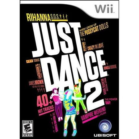 Refurbished Just Dance 2 For Wii - Halloween Remix Dance Music