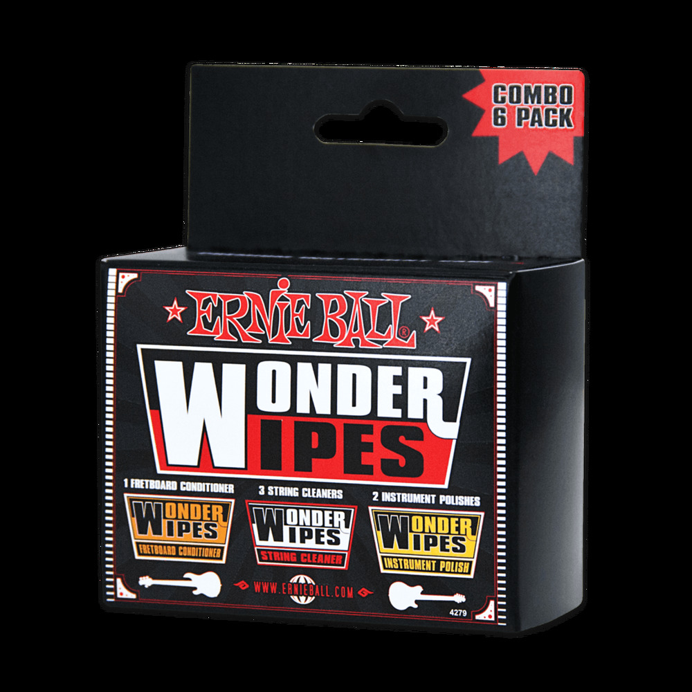 Ernie Ball Wonder Wipes Multi-pack