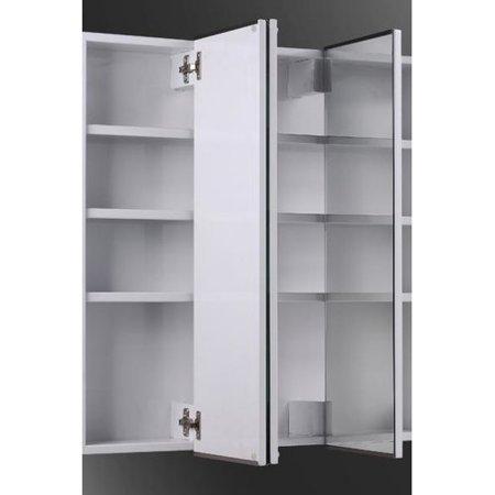 Ketcham Medicine Cabinets Tri View 30 X 36 Recessed Cabinet