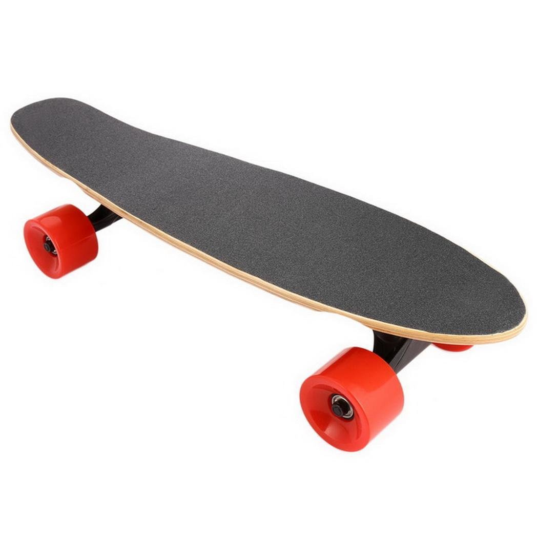 Electric Skateboard Kit Longboard with Remote Controller,Black Electric Longboards Skateboard With Sam Sung Lithium... by