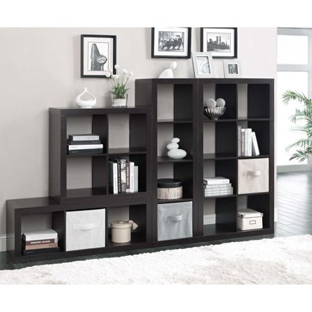 Better Homes And Gardens Square 4 Cube Storage Organizer Multiple Colors Best Shelving Storage