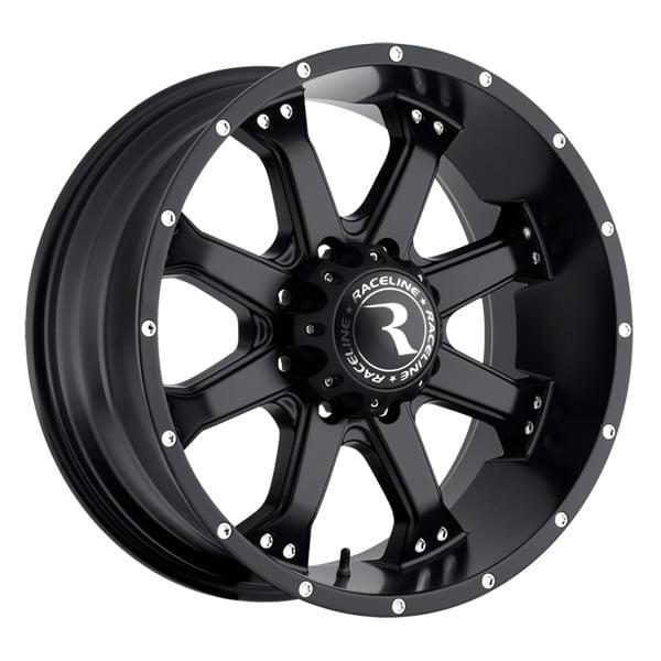 Raceline 991B Assault 20x9 8x170 +0mm Matte Black Wheel Rim