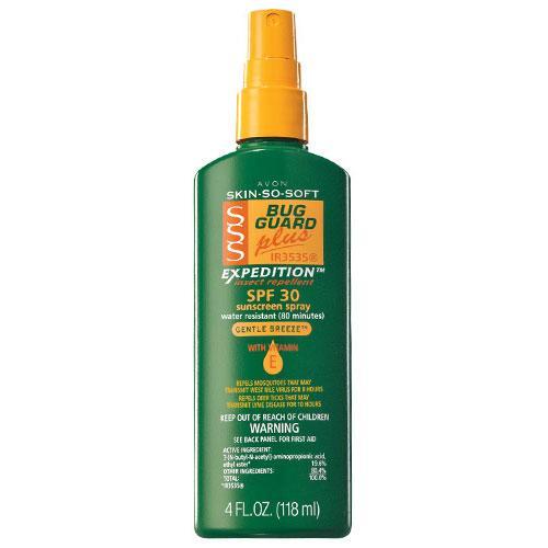 Avon Skin so Soft Bug Guard Plus Expedition SPF 30 Pump Spray, 4 Ounce - Walmart.com