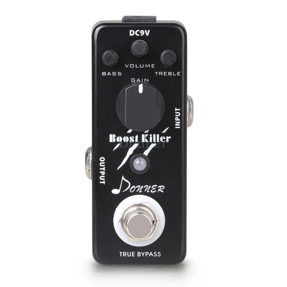 Donner True Bypass Boost Killer Guitar Effect Pedal Rich Distortion Sound by Donner
