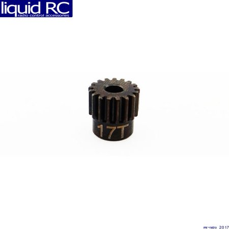 Hot Racing CSG17M05 17t 0.5 Mod Hardened Steel Pinion Gear 1/8 Bore Hardened Steel Pinion Gear