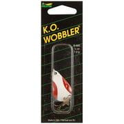 Ko Wobbler 1/4 oz Red, White and Nickel