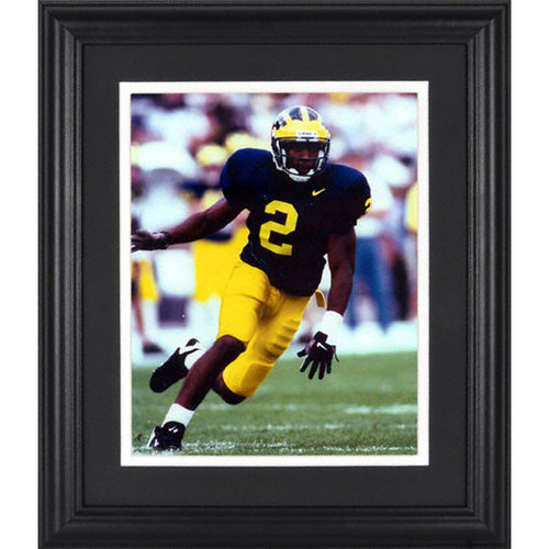 NCAA - Charles Woodson Michigan Wolverines Framed Unsigned 8x10 Photograph
