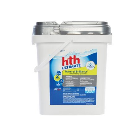 Hth Pool Ultimate 7 In 1 Mineral Brilliance Chlorinating