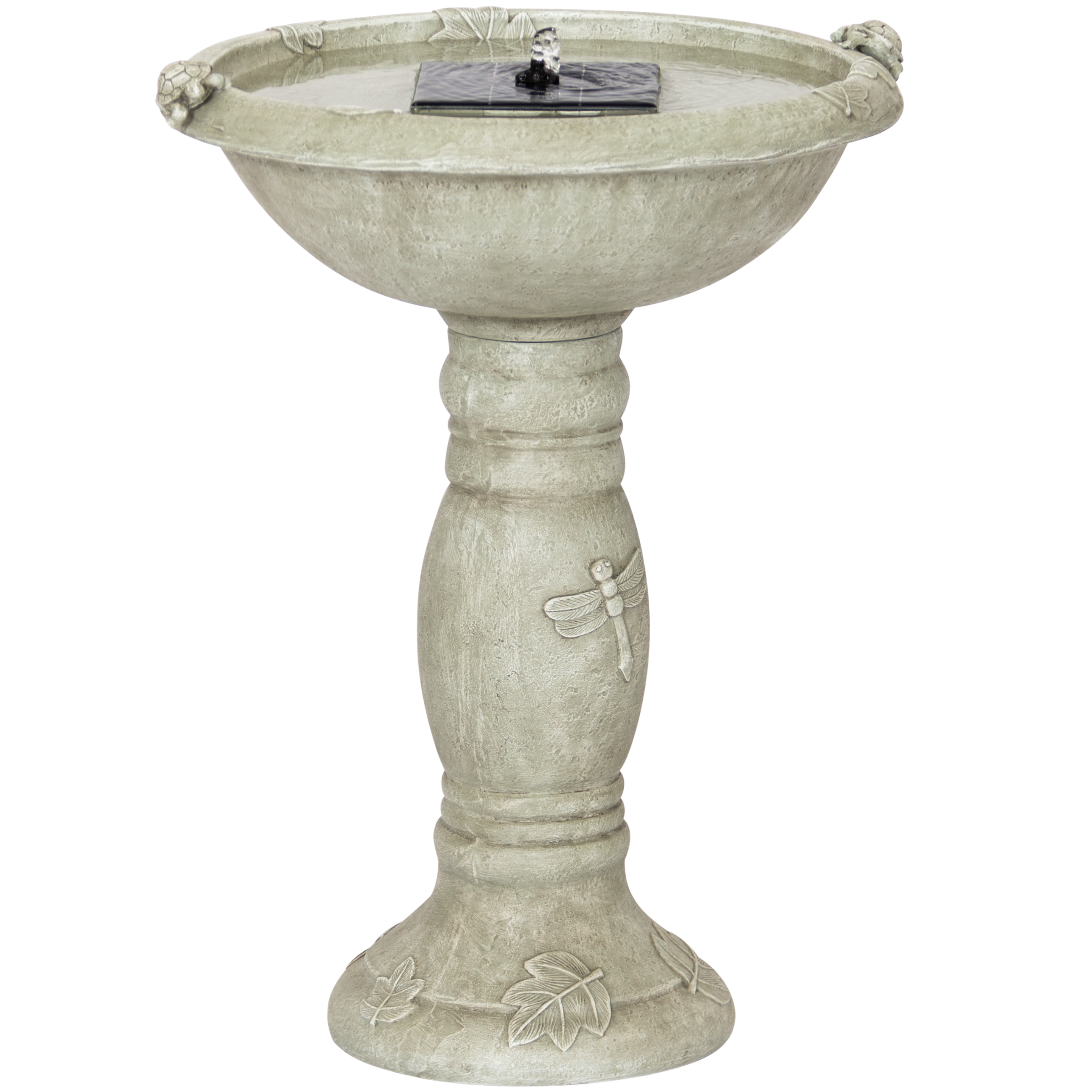 Best Choice Products Solar Bird Bath Fountain With Integr...
