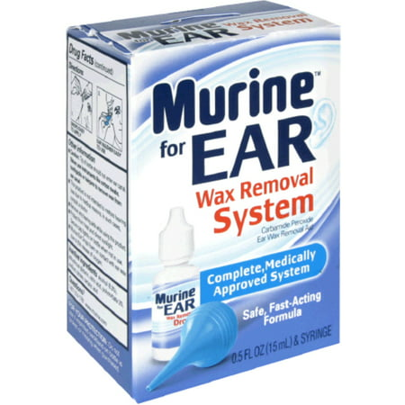 2 Pack - Murine Ear Wax Removal System 1 Each