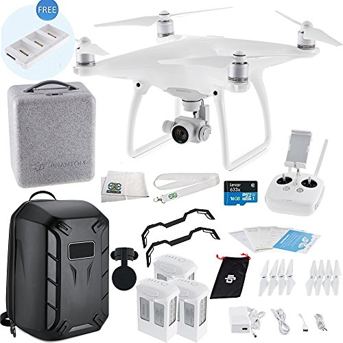 DJI Phantom 4 Quadcopter Ultimate Hardshell Backpack Bundle