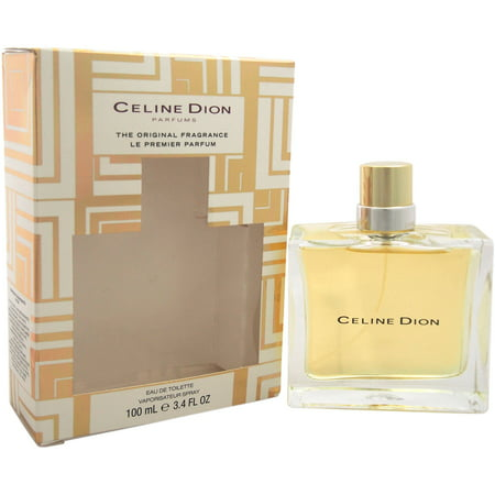 Celine Dion Eau De Toilette For Women  3 4 Fl Oz