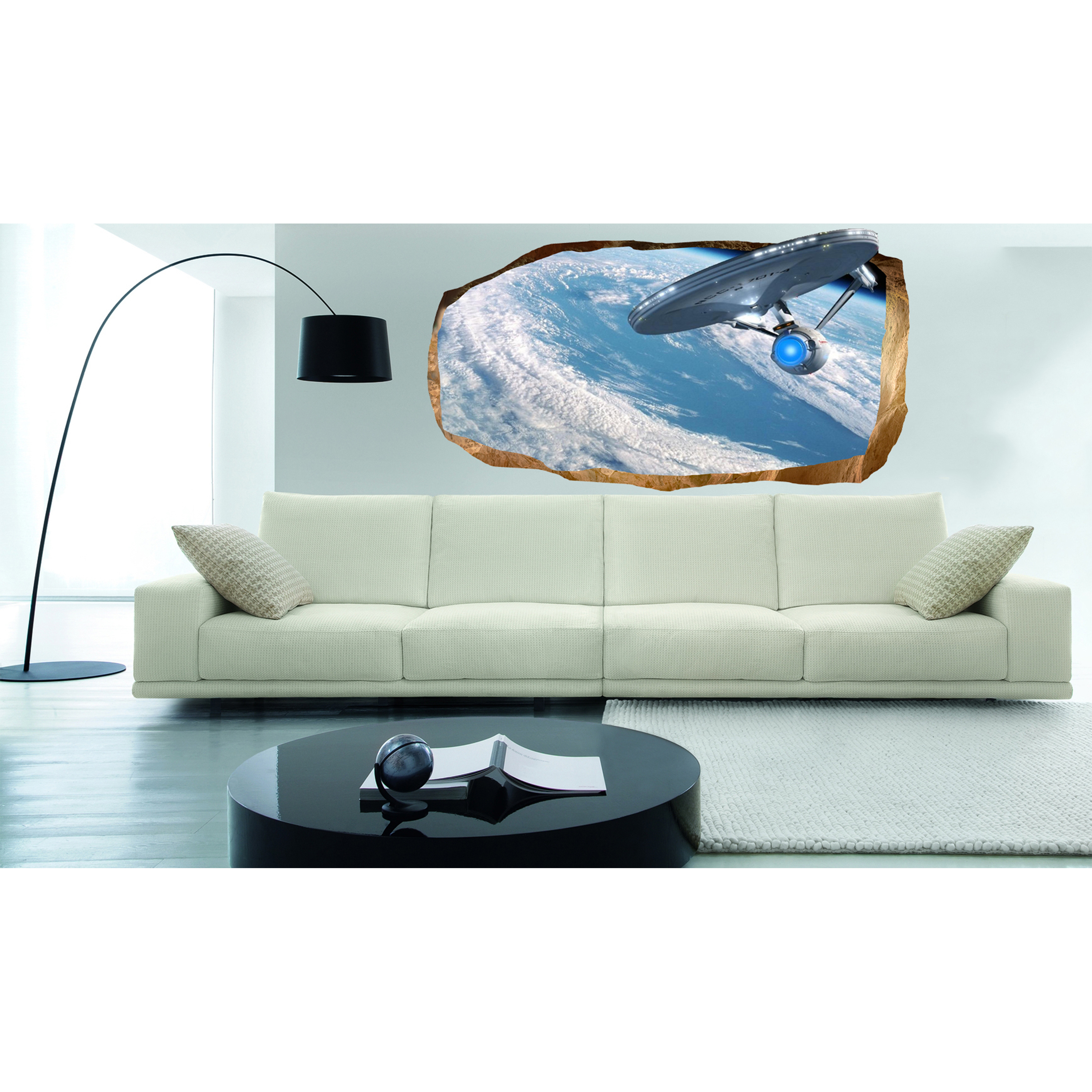 Star trek wall mural Home Garden Compare Prices at Nextag