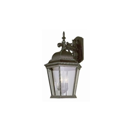 Trans Globe Lighting 51002 Three Light Up Lighting Outdoor Wall Sconce from the Outdoor (Trans Globe Traditional Sconce)