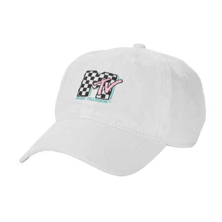 b15518908b2 MTV - MTV Dad Hat Adjustable Baseball Cap - Walmart.com